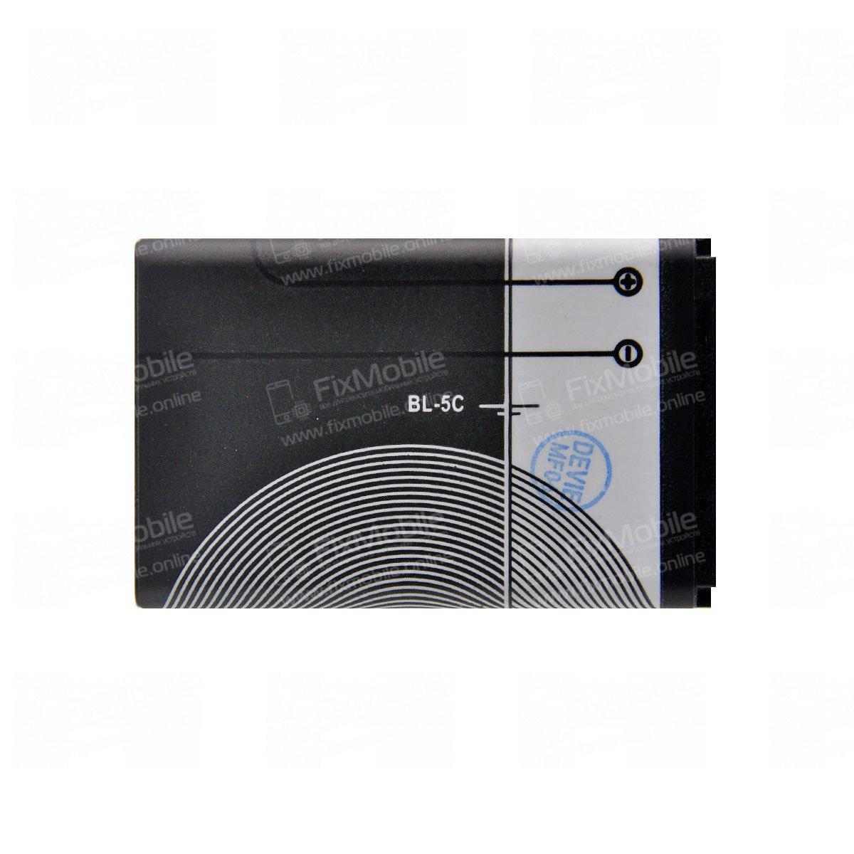 Аккумуляторная батарея для Nokia 205 Dual BL-5C