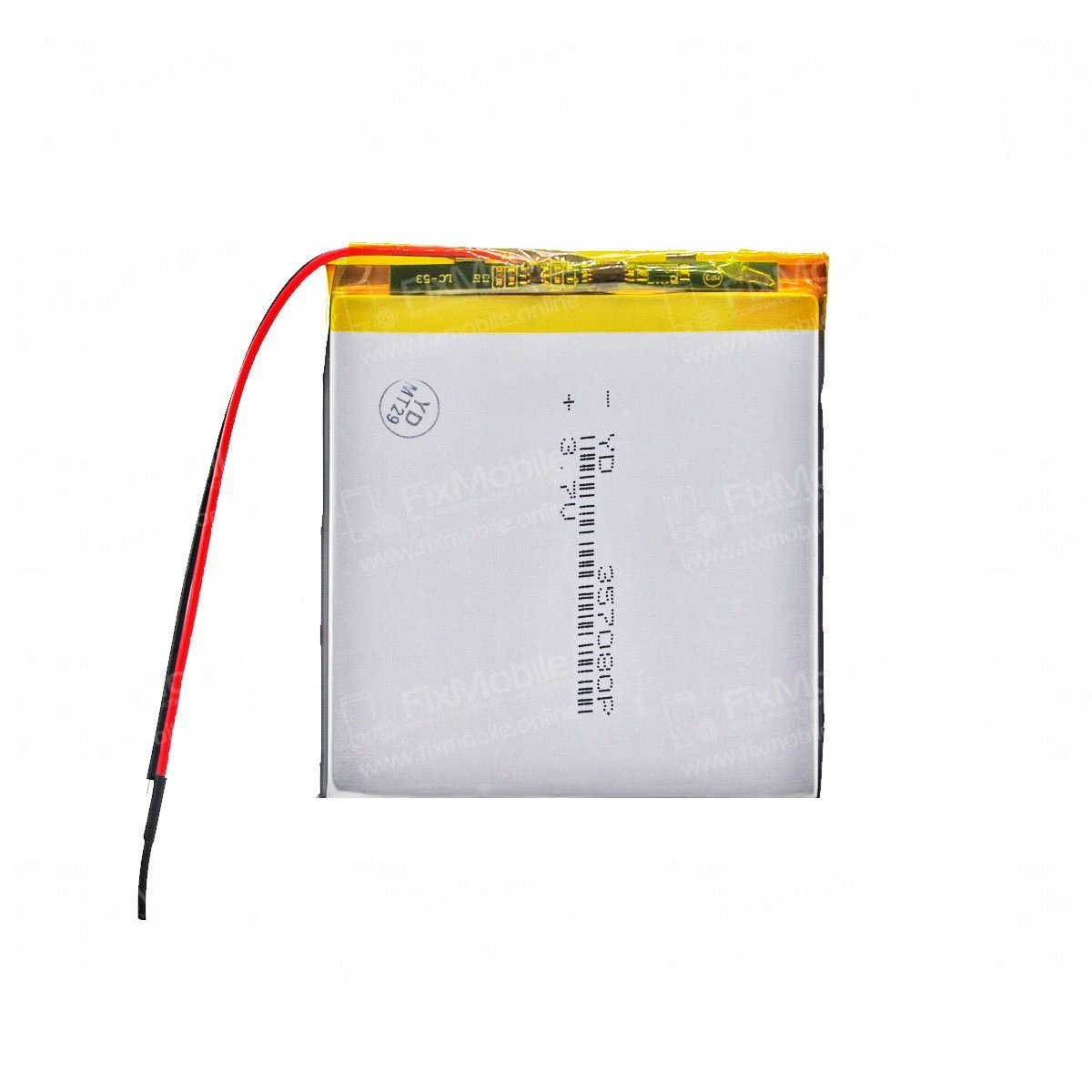 Аккумуляторная батарея универсальная 357080p 3,7v 3000 mAh 3.5*70*80 мм