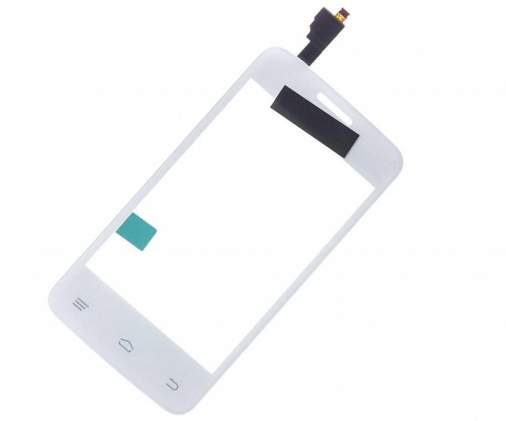 Тачскрин (сенсор) для Fly Era Nano 1 (IQ432) (белый)