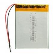 Аккумуляторная батарея универсальная 305070p 3,7V 2200 mAh (3*50*70 мм)